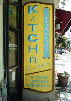 Dimensional sign for Kitchen Collectibiles