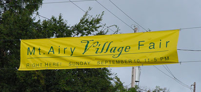 Mount Airy Street Banner